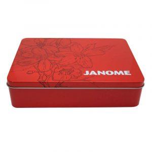 Caja Janome Roja