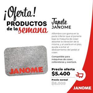 Tapete Janome