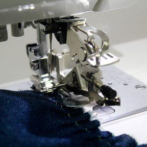 Pie de plisado (Computarizada)