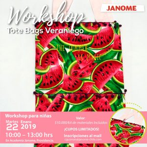Workshop Tote Bags Veraniego