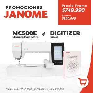 MC500E Más Digitizer Junior