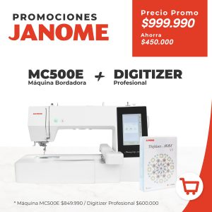 MC500E Más Digitizer profesional