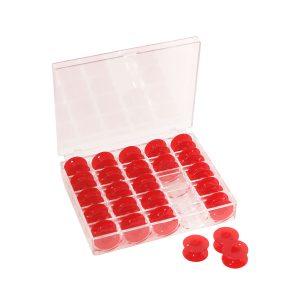 Carretes Plásticos Rojo